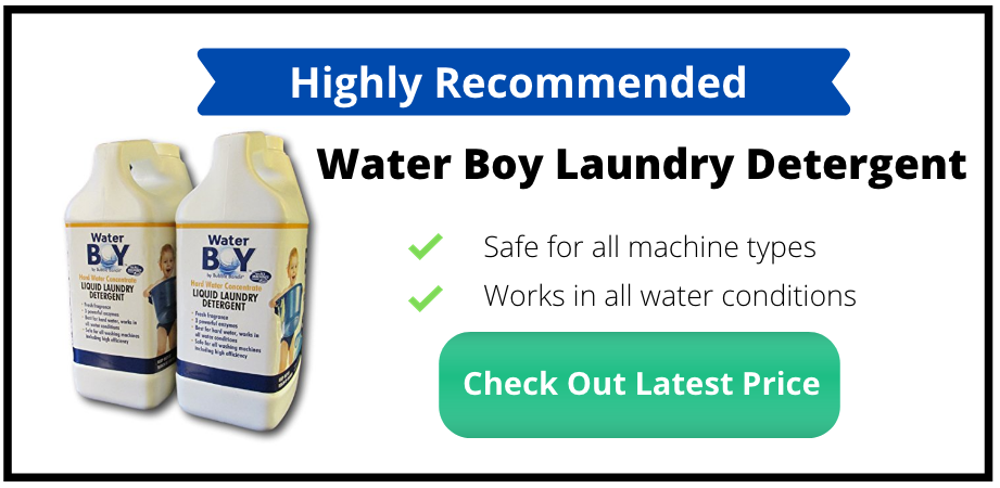 hard water liquid laundry detergent