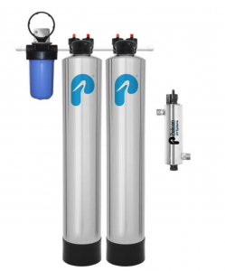 Pelican Whole House Filter & Water Softener Alternative with UV